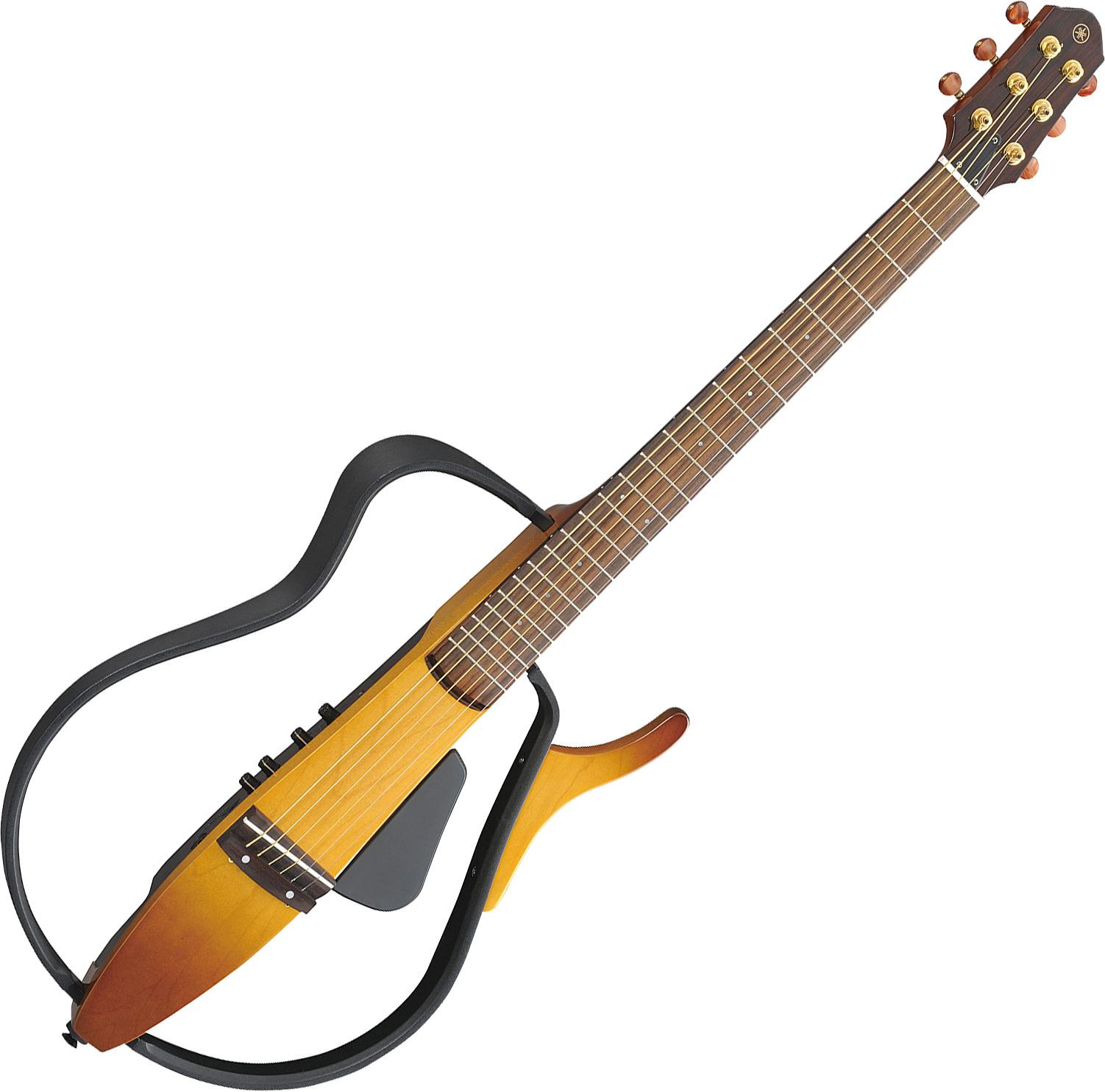 Guitare acoustique voyage Yamaha Silent Guitar SLG110S ...